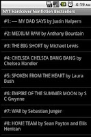 Screenshot of Books - Best Sellers