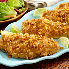 Tortilla Crusted Chicken Breasts