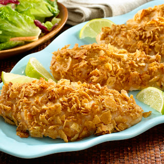 Tortilla Crusted Chicken Breasts Recipes