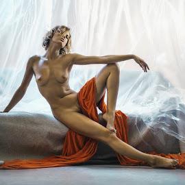 Chucha  by Dmitry Laudin - Nudes & Boudoir Artistic Nude ( studio, girl )