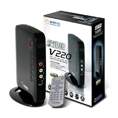 [新聞稿] 燦坤推出康博啟視錄V220 外接電視盒