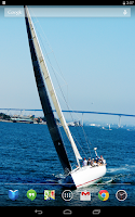 Screenshot of Sailboats Live Wallpaper