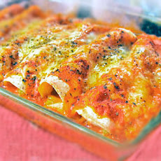 Gluten-Free Sour Cream Chicken Enchiladas