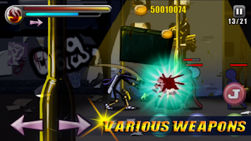 Screenshot of Ultimate Stick Fight