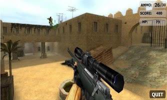Screenshot of Sniper Shooting : Desert Storm