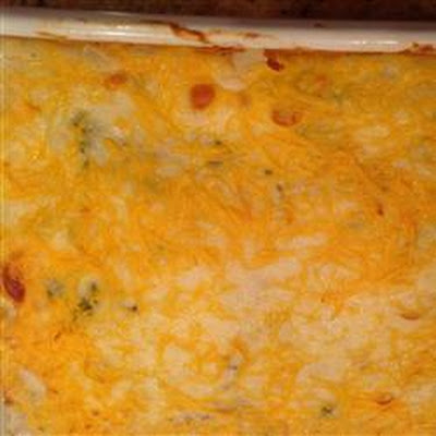 Cheesy Chicken Asparagus Casserole