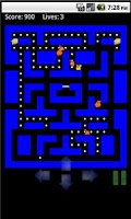 Screenshot of PacMouse The Maze Master