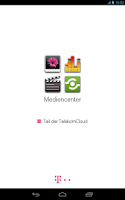 Screenshot of Mediencenter - Telekom Cloud