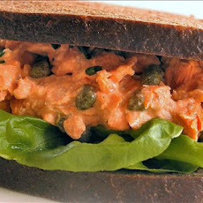 Eye Opening Salmon Sandwiches