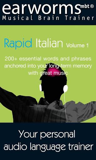 Earworms Rapid Italian Vol.1