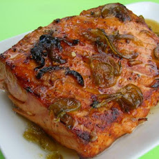 Honey Jalapeno Salmon Fillets