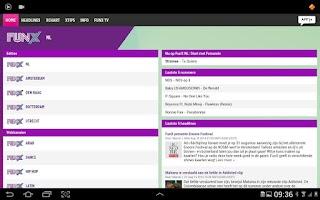 Screenshot of NPO FunX