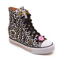 Skechers Leopard Print Concealed Wedge LEOPAERD PRINT INVISIBLE WEDGE