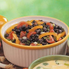Colorful Black Bean Salad Recipe