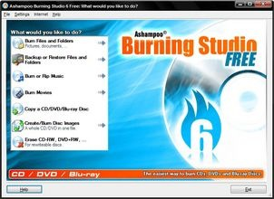 Free CD, DVD and Blu-ray burning Software
