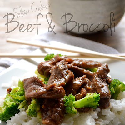 {Pantry Crashers Series} Slow Cooker Beef and Broccoli