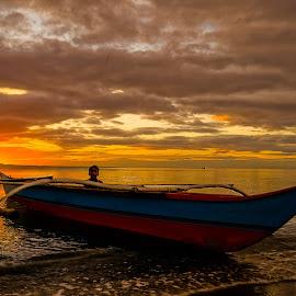 Light and Darkness by Karen Lee - Transportation Boats