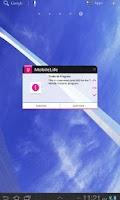 Screenshot of MobileLife Widget for Tablets