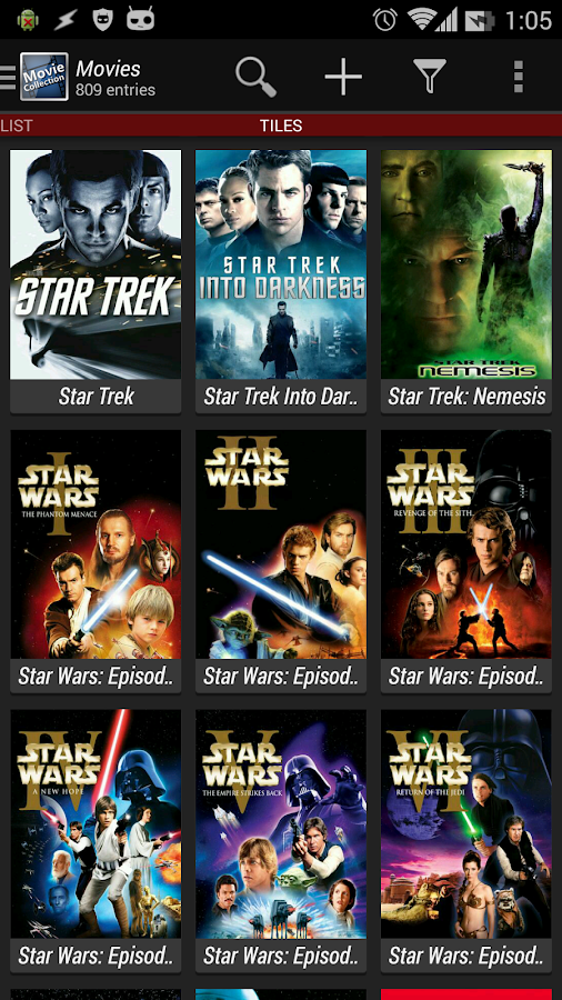 Movie Collection Screenshot 0