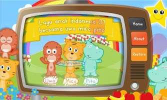 Screenshot of Lagu Anak Indonesia 01