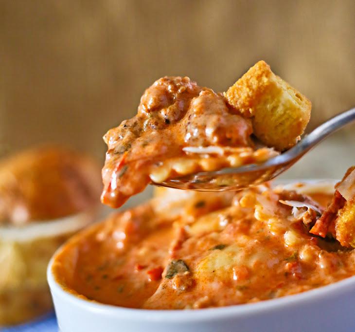 Tuscan Ravioli Soup Recipe | Yummly