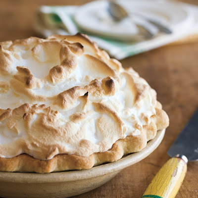 Mile-High Lemon Meringue Pie