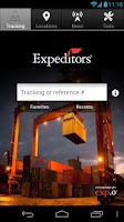 Screenshot of Expeditors Shipment Tracking