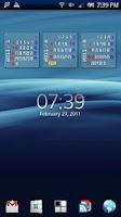 Screenshot of Calendar & Launcher Pro