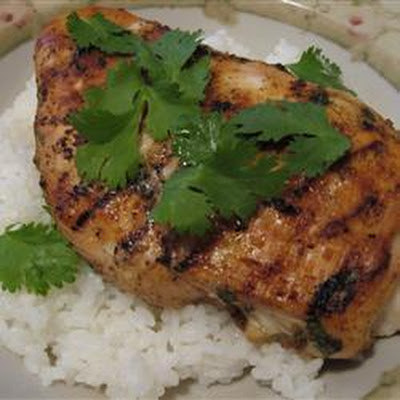 Barbecue Jamaican Chicken