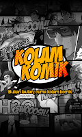 Screenshot of Kolam Komik