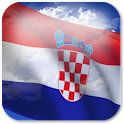3D Croatia Flag icon