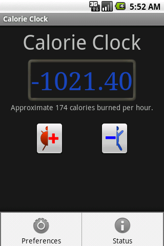 Diet-Clock DEMO