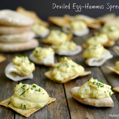 Deviled Egg-Hummus Spread