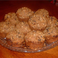 Sweet and Nutty Raisin Bran Muffins