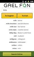 Screenshot of Gaelfon FREE Irish Translator