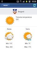 Screenshot of List Danas by Serbian Gateway