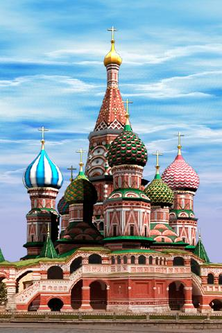 Moscow LWP ST. Basil`s Cathed.