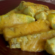 Cheesy Summer Squash Spears