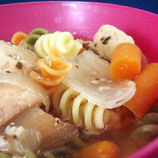 Crock Pot Chicken Noodle Soup