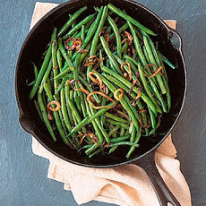 Indian-Spiced String Beans