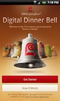 Screenshot of Lawry's Digital Dinner Bell