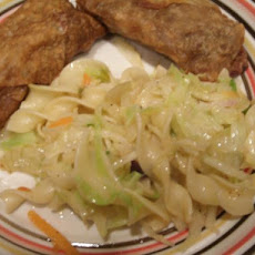 Haluski (Pan-Fried Cabbage and Noodles)