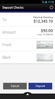 Screenshot of Access FCU Mobile Banking