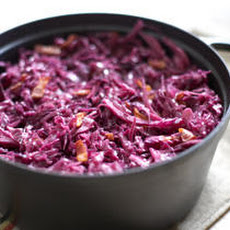 Braised Red Cabbage with Bacon Recipe