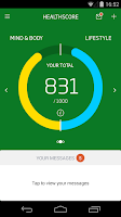 Screenshot of Nuffield HealthScore™