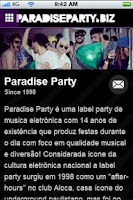 Screenshot of ParadiseParty