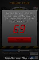 Screenshot of Atomic Fart FREE