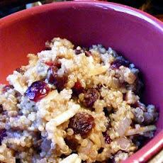 Quinoa Pilaf With Cranberries