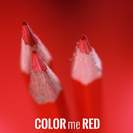 Color me red by Dave Bernard - Typography Words (  )