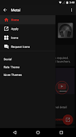 Screenshot of Metal - Icon Pack